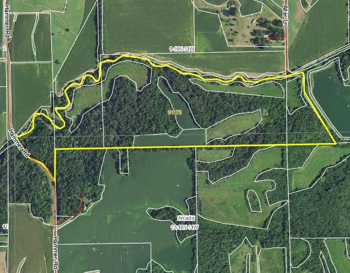 91.75 Acre Rec/Ag Combo Land, Morgan County