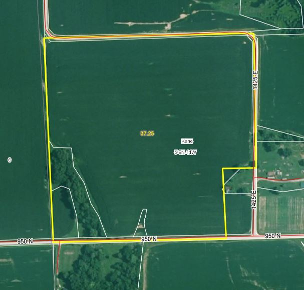 37.25 Acres, 89% Tillable, Greene County