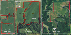 273.58 Acre Land Auction · 3 Tracts · Morgan & Scott Counties